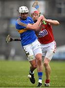 11 March 2018; Patrick Maher of Tipperary in action against Bill Cooper of Cork during the Allianz Hurling League Division 1A Round 5 match between Tipperary and Cork at Semple Stadium in Thurles, Co Tipperary. Photo by Sam Barnes/Sportsfile