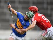 11 March 2018; Cathal Barrett of Tipperary in action against Bill Cooper of Cork during the Allianz Hurling League Division 1A Round 5 match between Tipperary and Cork at Semple Stadium in Thurles, Co Tipperary. Photo by Sam Barnes/Sportsfile