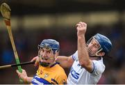 11 March 2018; Michael Walsh of Waterford in action against David Fitzgerald of Clare during the Allianz Hurling League Division 1A Round 5 match between Waterford and Clare at Walsh Park in Waterford. Photo by Piaras Ó Mídheach/Sportsfile