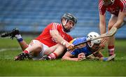 11 March 2018; Patrick Maher of Tipperary in action against Colm Spillane of Cork during the Allianz Hurling League Division 1A Round 5 match between Tipperary and Cork at Semple Stadium in Thurles, Co Tipperary. Photo by Sam Barnes/Sportsfile