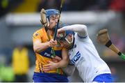 11 March 2018; Kieran Bennett of Waterford in action against Shane O'Donnell of Clare during the Allianz Hurling League Division 1A Round 5 match between Waterford and Clare at Walsh Park in Waterford. Photo by Piaras Ó Mídheach/Sportsfile