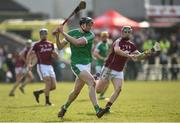 11 March 2018; Declan Hannon of Limerick in action against Cathal Mannion of Galway during the Allianz Hurling League Division 1B Round 5 match between Galway and Limerick at Pearse Stadium in Galway. Photo by Diarmuid Greene/Sportsfile