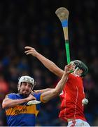 11 March 2018; Patrick Maher of Tipperary in action against Mark Coleman of Cork during the Allianz Hurling League Division 1A Round 5 match between Tipperary and Cork at Semple Stadium in Thurles, Co Tipperary. Photo by Sam Barnes/Sportsfile
