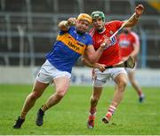 11 March 2018; Padraic Maher of Tipperary in action against Alan Cadogan of Cork during the Allianz Hurling League Division 1A Round 5 match between Tipperary and Cork at Semple Stadium in Thurles, Co Tipperary. Photo by Sam Barnes/Sportsfile