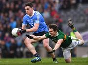 11 March 2018; Paddy Andrews of Dublin in action against Ronan Shanahan of Kerry during the Allianz Football League Division 1 Round 5 match between Dublin and Kerry at Croke Park in Dublin. Photo by Stephen McCarthy/Sportsfile