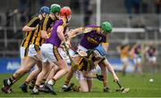 11 March 2018; TJ Reid of Kilkenny and Matthew O'Hanlon of Wexford compete for possession during the Allianz Hurling League Division 1A Round 5 match between Kilkenny and Wexford at Nowlan Park in Kilkenny. Photo by Brendan Moran/Sportsfile