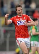 11 March 2018; Colm O'Neill of Cork celebrates after scoring his side's second goal during the Allianz Football League Division 2 Round 5 match between Meath and Cork at Páirc Tailteann in Navan, Co Meath. Photo by Oliver McVeigh/Sportsfile