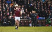 11 March 2018; Joe Canning of Galway comes on to replace team-mate Shane Moloney during the Allianz Hurling League Division 1B Round 5 match between Galway and Limerick at Pearse Stadium in Galway. Photo by Diarmuid Greene/Sportsfile