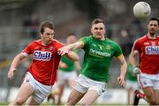11 March 2018; Colm O'Neill of Cork in action against Conor McGill of Meath during the Allianz Football League Division 2 Round 5 match between Meath and Cork at Páirc Tailteann in Navan, Co Meath. Photo by Oliver McVeigh/Sportsfile