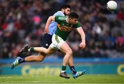 11 March 2018; Michael Geaney of Kerry in action against Cian O'Sullivan of Dublin during the Allianz Football League Division 1 Round 5 match between Dublin and Kerry at Croke Park in Dublin. Photo by Stephen McCarthy/Sportsfile