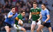 11 March 2018; Ronan Shanahan of Kerry in action against Paddy Andrews of Dublin during the Allianz Football League Division 1 Round 5 match between Dublin and Kerry at Croke Park in Dublin. Photo by Stephen McCarthy/Sportsfile