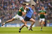 11 March 2018; Adrian Spillane of Kerry in action against Brian Howard of Dublin during the Allianz Football League Division 1 Round 5 match between Dublin and Kerry at Croke Park in Dublin. Photo by David Fitzgerald/Sportsfile