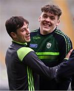 11 March 2018; Jack Savage, left, and David Clifford of Kerry during the Allianz Football League Division 1 Round 5 match between Dublin and Kerry at Croke Park in Dublin. Photo by Stephen McCarthy/Sportsfile