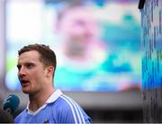 11 March 2018; Ciaran Kilkenny of Dublin is interviewed following the Allianz Football League Division 1 Round 5 match between Dublin and Kerry at Croke Park in Dublin. Photo by Stephen McCarthy/Sportsfile