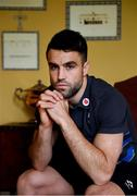 12 March 2018; Conor Murray poses for a portrait following an Ireland Rugby Press Conference at Carton House, in Maynooth, Co. Kildare. Photo by Sam Barnes/Sportsfile