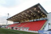 12 March 2018; A general view of the newly refurbished Brandywell Stadium prior to the SSE Airtricity League Premier Division match between Derry City and Limerick at the Brandywell Stadium in Derry. Photo by Oliver McVeigh/Sportsfile