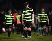 12 March 2018; Shamrock Rovers captain Ronan Finn and team-mates following the SSE Airtricity League Premier Division match between Cork City and Shamrock Rovers at Turner's Cross in Cork. Photo by Stephen McCarthy/Sportsfile