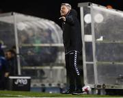 12 March 2018; Bohemians manager Keith Long during the SSE Airtricity League Premier Division match between Waterford and Bohemians at Waterford Regional Sports Centre in Waterford. Photo by Harry Murphy/Sportsfile