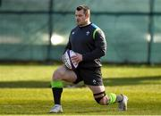 13 March 2018; Cian Healy during Ireland rugby squad training at Carton House in Maynooth, Co Kildare. Photo by Brendan Moran/Sportsfile