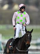 13 March 2018; Jockey Ruby Walsh after winning the OLBG Mares' Hurdle Race on Benie Des Dieux on Day One of the Cheltenham Racing Festival at Prestbury Park in Cheltenham, England. Photo by Seb Daly/Sportsfile