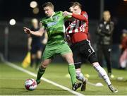 12 March 2018; Shaun Kelly of Limerick during the SSE Airtricity League Premier Division match between Derry City and Limerick at Brandywell Stadium, in Derry.  Photo by Oliver McVeigh/Sportsfile
