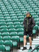16 March 2018; Ireland head coach Joe Schmidt arrives for the Ireland rugby captain's run at Twickenham Stadium in London, England. Photo by Brendan Moran/Sportsfile