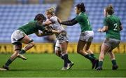 16 March 2018; Marlie Packer of England is tackled by Ciara Griffin, left, and Louise Galvin of Ireland during the Women's Six Nations Rugby Championship match between England and Ireland at the Ricoh Arena in Coventry, England. Photo by Harry Murphy/Sportsfile