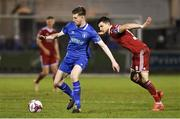 16 March 2018; Killian Cantwell of Limerick FC in action against Graham Cummins of Cork City during the SSE Airtricity League Premier Division match between Limerick FC and Cork City at Market's Field in Limerick. Photo by Matt Browne/Sportsfile