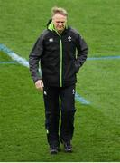 17 March 2018; Ireland head coach Joe Schmidt prior to the NatWest Six Nations Rugby Championship match between England and Ireland at Twickenham Stadium in London, England. Photo by Harry Murphy/Sportsfile