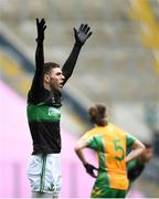 17 March 2018: Luke Connolly of Nemo Rangers appeals to the umpire during the AIB GAA Football All-Ireland Senior Club Championship Final match between Corofin and Nemo Rangers at Croke Park in Dublin. Photo by David Fitzgerald/Sportsfile