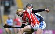 17 March 2018: Oisín Gough of Cuala in action against Peter Casey of Na Piarsaigh during the AIB GAA Hurling All-Ireland Senior Club Championship Final match between Cuala and Na Piarsaigh at Croke Park in Dublin. Photo by David Fitzgerald/Sportsfile