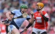 17 March 2018: Shane Dowling of Na Piarsaigh in action against Paul Schutte of Cuala during the AIB GAA Hurling All-Ireland Senior Club Championship Final match between Cuala and Na Piarsaigh at Croke Park in Dublin. Photo by David Fitzgerald/Sportsfile