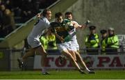 17 March 2018; Jack Barry of Kerry in action against Tommy Moolick and Fergal Conway of Kildare during the Allianz Football League Division 1 Round 6 match between Kerry and Kildare at Austin Stack Park in Tralee, Co Kerry. Photo by Diarmuid Greene/Sportsfile