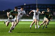 17 March 2018; Jack Barry of Kerry in action against Eoin Doyle of Kildare during the Allianz Football League Division 1 Round 6 match between Kerry and Kildare at Austin Stack Park in Tralee, Co Kerry. Photo by Diarmuid Greene/Sportsfile