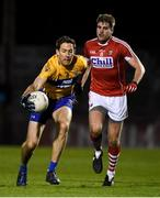 17 March 2018: Gary Brennan of Clare in action against Ian Maguire of Cork during the Allianz Football League Division 2 Round 6 match between Cork and Clare at Páirc Uí Rinn in Cork. Photo by Matt Browne/Sportsfile