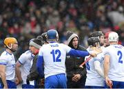 18 March 2018; Waterford selector Dan Shanahan encourages his players ahead of the Allianz Hurling League Division 1 Relegation Play-Off match between Waterford and Cork at Páirc Uí Rinn in Cork. Photo by Eóin Noonan/Sportsfile
