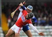 18 March 2018; Eoin Cadogan of Cork in action against Tom Devine of Waterford during the Allianz Hurling League Division 1 Relegation Play-Off match between Waterford and Cork at Páirc Uí Rinn in Cork. Photo by Eóin Noonan/Sportsfile