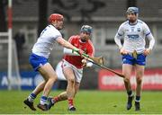 18 March 2018; Conor Lehane of Cork in action against Tadgh de Burca of Waterford during the Allianz Hurling League Division 1 Relegation Play-Off match between Waterford and Cork at Páirc Uí Rinn in Cork. Photo by Eóin Noonan/Sportsfile