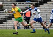 18 March 2018; Michael Murphy of Donegal in action against Conor Boyle of Monaghan during the Allianz Football League Division 1 Round 6 match between Monaghan and Donegal at St. Tiernach's Park in Clones, Monaghan. Photo by Oliver McVeigh/Sportsfile