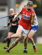 18 March 2018; Darragh Fitzgibbon of Cork in action against Tommy Ryan of Waterford during the Allianz Hurling League Division 1 Relegation Play-Off match between Waterford and Cork at Páirc Uí Rinn in Cork. Photo by Eóin Noonan/Sportsfile