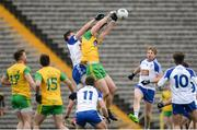 18 March 2018; Hugh McFadden of Donegal in action against Darren Hughes of Monaghan during the Allianz Football League Division 1 Round 6 match between Monaghan and Donegal at St. Tiernach's Park in Clones, Monaghan. Photo by Oliver McVeigh/Sportsfile