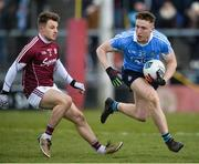 18 March 2018; Paddy Small of Dublin in action against Eoghan Kerin of Galway during the Allianz Football League Division 1 Round 6 match between Galway and Dublin at Pearse Stadium, in Galway. Photo by Ray Ryan/Sportsfile