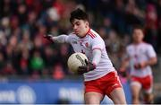 18 March 2018; Lee Brennan of Tyrone during the Allianz Football League Division 1 Round 6 match between Mayo and Tyrone at Elverys MacHale Park in Castlebar, Co. Mayo. Photo by Sam Barnes/Sportsfile