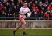 18 March 2018; Cathal McCarron of Tyrone during the Allianz Football League Division 1 Round 6 match between Mayo and Tyrone at Elverys MacHale Park in Castlebar, Co. Mayo. Photo by Sam Barnes/Sportsfile