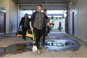19 March 2018; Lester Ryan of Kilkenny on his way into the team dressing room before the Allianz Hurling League Division 1 quarter-final match between Offaly and Kilkenny at Bord Na Mona O'Connor Park in Tullamore, Offaly. Photo by Matt Browne/Sportsfile
