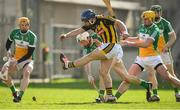 19 March 2018; Ger Aylward of Kilkenny in action against Offaly during the Allianz Hurling League Division 1 quarter-final match between Offaly and Kilkenny at Bord Na Mona O'Connor Park in Tullamore, Offaly. Photo by Matt Browne/Sportsfile