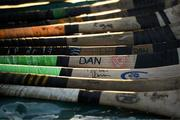 19 March 2018; A general view of Limerick players' hurls during the Allianz Hurling League Division 1 quarter-final match between Limerick and Clare at the Gaelic Grounds in Limerick.  Photo by Diarmuid Greene/Sportsfile