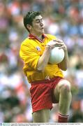 3 August 2003; John Devine, Tyrone. Bank of Ireland All-Ireland Senior Football Championship Quarter Final, Tyrone v Fermanagh, Croke Park, Dublin. Picture credit; Brendan Moran / SPORTSFILE *EDI*