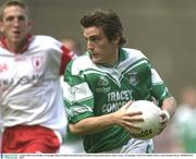 3 August 2003; Colm Bradley, Fermanagh. Bank of Ireland All-Ireland Senior Football Championship Quarter Final, Tyrone v Fermanagh, Croke Park, Dublin. Picture credit; Brendan Moran / SPORTSFILE *EDI*