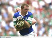 3 August 2003; Ronan Gallagher, Fermanagh. Bank of Ireland All-Ireland Senior Football Championship Quarter Final, Tyrone v Fermanagh, Croke Park, Dublin. Picture credit; Brendan Moran / SPORTSFILE *EDI*